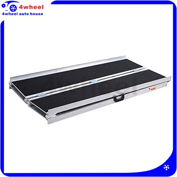 Aluminum Foldable Handicap Van Ramps Wheelchair Ramps