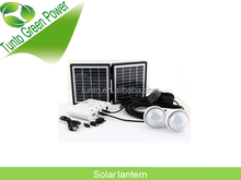 1.7W 11V * 2 pcs solar panel, 2.5M cable white portable solar energy kits with 3pcs mobile phone charger