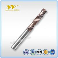3D External Coolant Tungsten Solid Carbide Twist Drill Bit for Stainless Steel Machining