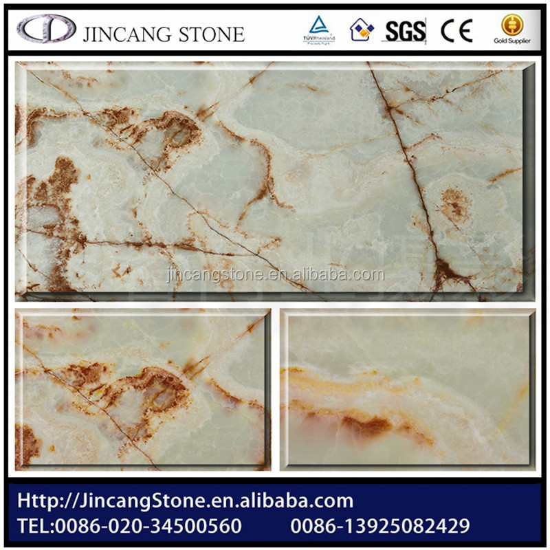decoration Marble Stone Red raw jade stone