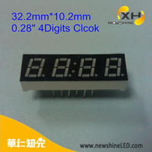"Indoor Scroll Clock Panel Truck Mobile 0.28"" 4Digits Led Display"
