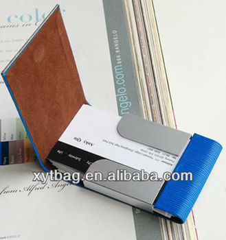 Business card holder for men and women