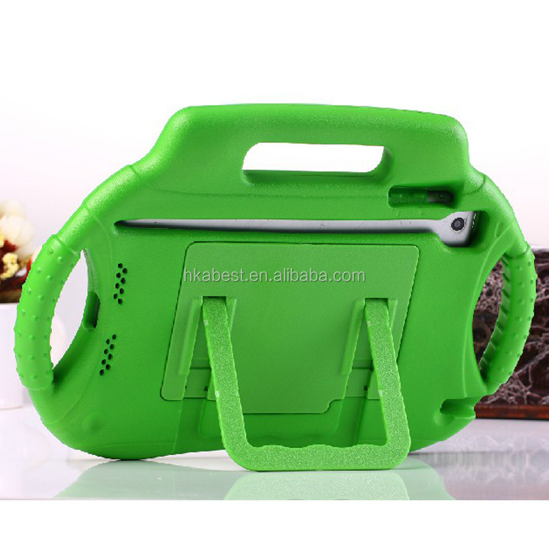 for Apple Ipad Mini 1/2 EVA Cover With Carrying Handle Stand Shockproof Protective Cover for Kids