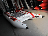 4.3m inflatable catamaran/ inflatable high speed boat
