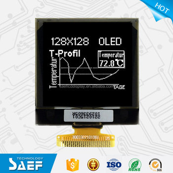 OLED 128128 SSD1327 LCD Module with White Backlight