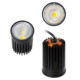 COB 7W,10W dimmable led spotlight IP65 Dia 50mm DIM2WARM