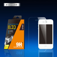 tempered glass desktop screen protector for iPhone 4s