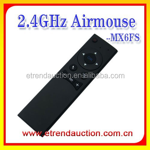 Single Face Wireless Universal Remote Control with 2.4G Air Mouse For Android TV Box