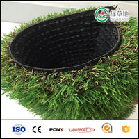 Customized landscape artificial grass for playground