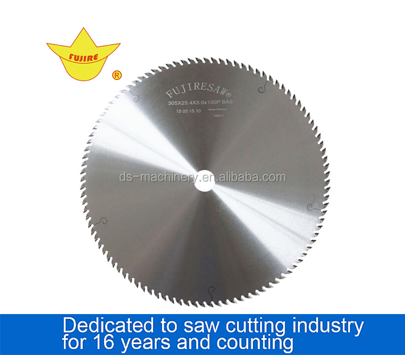 Fully New Harden Constantly Teeth Cutting Saw Blade for Aluminum Material
