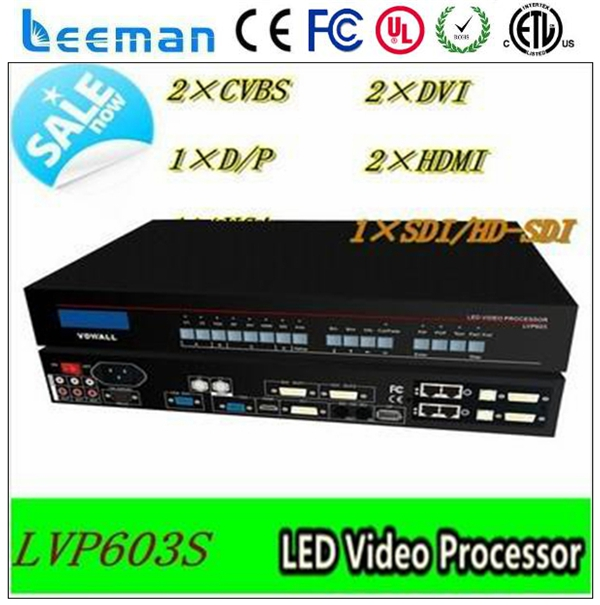 fixed installation led screen advertising access control processor