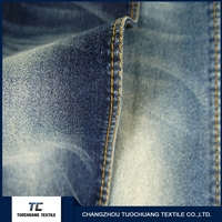 Changzhou tc 10oz denim white cotton spandex fabric wholesale online