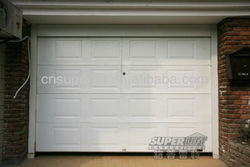 Residential Sectional Door/Power Lift Garage Door With Fashion Design