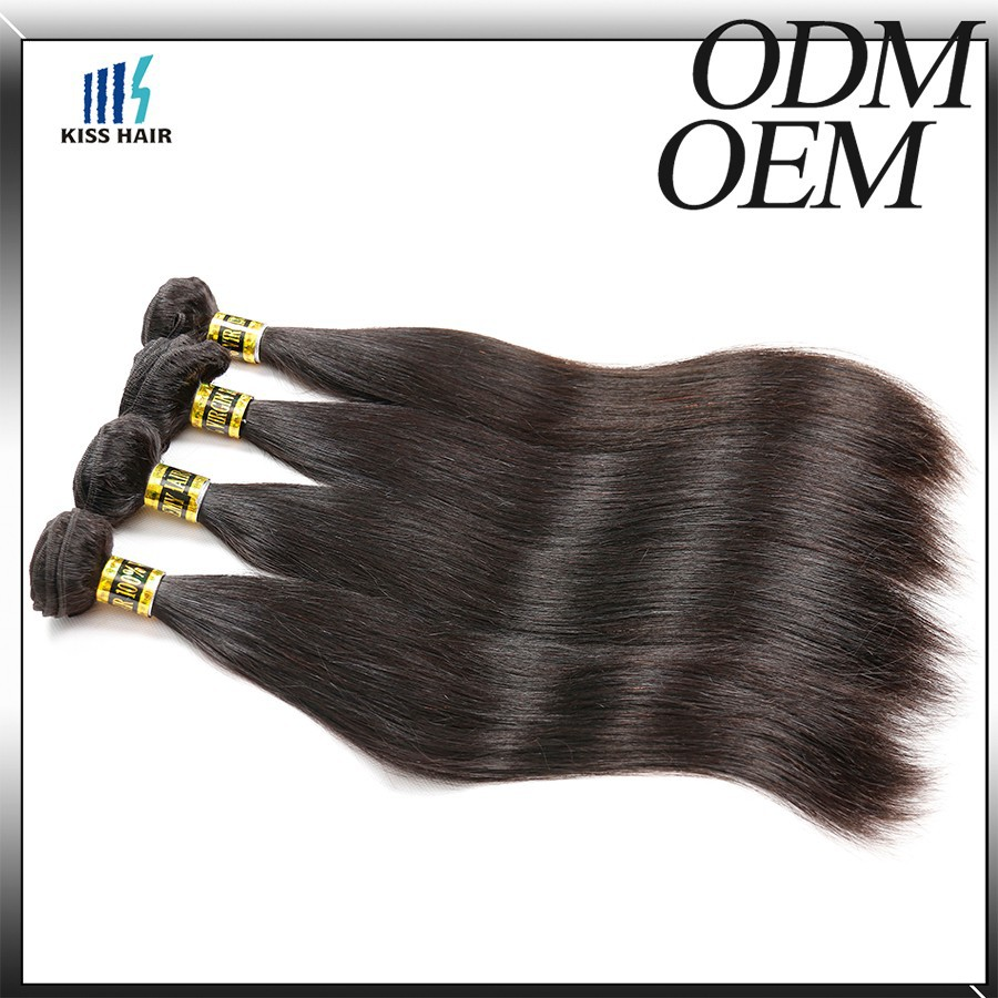 Unprocess Wholesale Brazilian Hair from Brazil 2015 Long Brazilian Silky Straight Human Hair Best Selling Product in America