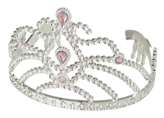 Tiara and Crowns in silver for party wholesale