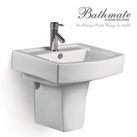 Bathroom face ceramic wall hung basin item 2208 24''