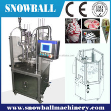Fast Delivery Rotary Filler, Gelato Cup Filling and Sealing Machinery, Rotary Ice Cream Filling Machine