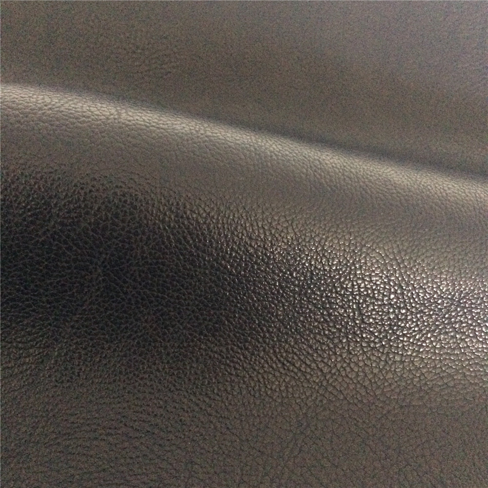 pu synthetic leather fabric material inexpensive price leather for clothes