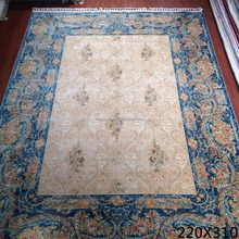 New design 7x10ft 100% silk kashmir discount handmade washable oriental rugs for sale