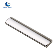 Strong thin neodymium metal arc segment magnet n52 manufacturer