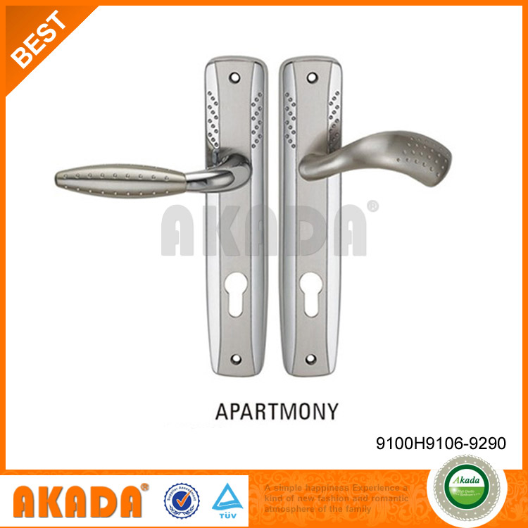 single side left opened door handle for outer door