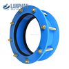 factory produce double flange cast iron sleeve type expansion joint