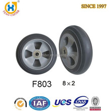 High quality High Performance 10 inch pneumatic tire wheel for hand trolley