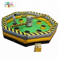 NEW Wipeout Eliminator Inflatable, Wipeout Inflatable Sweeper, Meltdown Zone inflatable game
