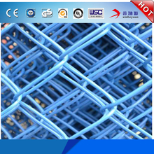 Wholesale Factory Best Price Diamond Brand Galvanized PVC Coating Colored 9 gauge Chain Link Wire Mesh Fence