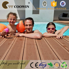 grooved active composite decking boards for sale