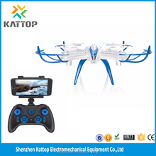 White and black FPV quadcopter drones radio control professional wifi spy camera drones