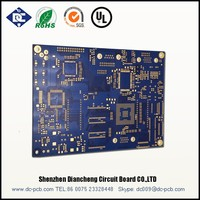Impedance PCBs Double sided plated-through printed circuit boards Double sided flexible PCBs