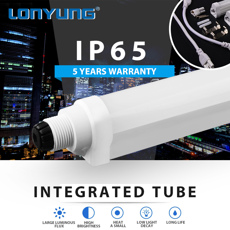 T8 integrated led light refrigerated cabinet Warm/Natural/Cool White 1500mm 25w price led tube light t8