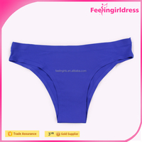 Hot Sexy Dark Blue Women Thong Underwear Women Free Samples