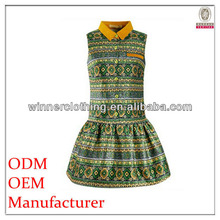 the latest fashion puffy bottom african dresses for women