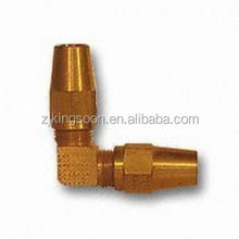brass elbow forging part for copper air brake tube fitting