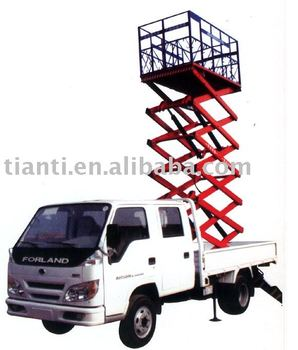 CE certificate ISO 9001:2008 Vehicle-mounted elevating platform