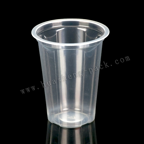 8oz pp disposable sealable plastic water cup,pp cup
