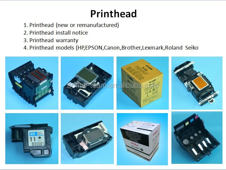 Cabeça de impressão da cabeça de impressão para hp 11 500 510 500 ps 800 800 ps cabeça de impressão para hp C4812A C4813A C4810A C4811A