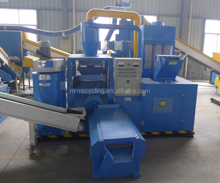 Best Selling Scrap Copper Wire Cable Granulator /waste copper wire recycling machine manufacturer/granulating machine