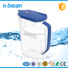 Coconut shell activated carbon water filter chlorine remover jug pot