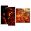 I Love Chinese God Buddha Picture Canvas Prints Decorative Canvas Wall for Home and Office Decor Ready to Hang