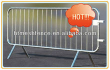 Outdoor Pedestrian Barrier 2100*1050mm 120mm infill pickets hot-dipped galvanized after welded