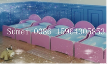 HX-YEC03 2015 new design high quality promotion children wood made bed