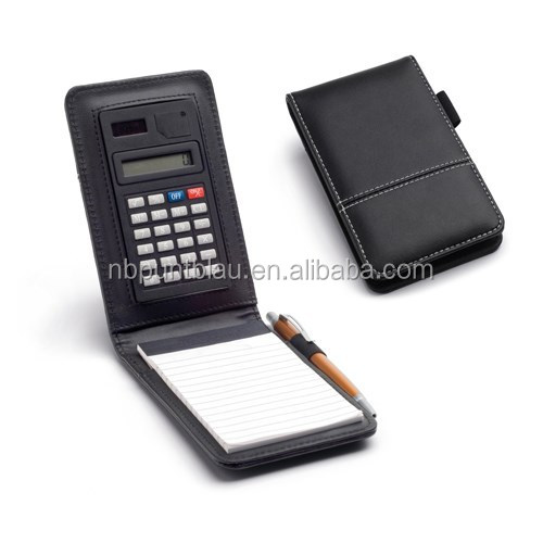 Popular calculator with notepad,personal organizer with calculator with high quality