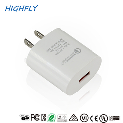 Professional CE certificate universal portable cell phone charger wall charger 5v 3a usb charger adapter for iphone