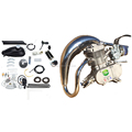 2 stroke CDH66 muffler Super PK80 with racing head bicycle engine kit