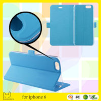 new style flip leather phone cover for iphone 6