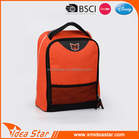 Custom cheap wholesale pvc active leisure orange durable 100 wine cooler bag