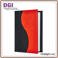 New fashion Legal size menu cover / table menu folder / menu holder